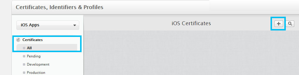 Add a new iOS distribution certificate